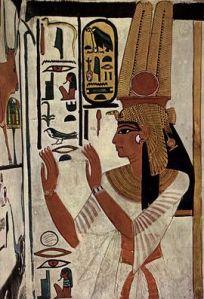 Gli artisti di Deir el-Medina erano tra i più bravi dell'epoca e questa rappresentazione della regina Nefertari ne è sicuramente una prova.